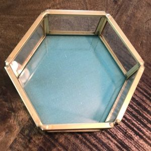 NWT! Brass tray